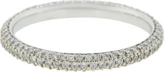 Kwiat Cobblestone Diamond Pave Band Ring