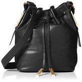 French Connection Women's Danny Leather Drawstring