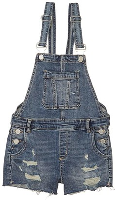 Blank NYC Kids Fling Cleaning/Denim Overalls in Blue (Big Kids) (Blue) Girl's Jumpsuit & Rompers One Piece