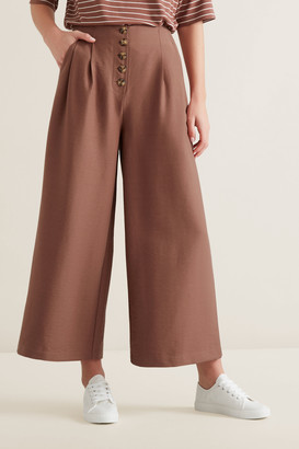 Seed Heritage Button Through Pants