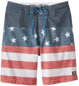 Billabong Boys' Tribong Interchange Lo Tides Boardshort (820) - 8145021