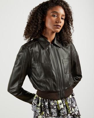 Ted Baker OCTERI Leather Jacket