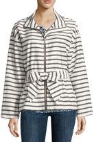Liz Claiborne Long Sleeve Anorak Jacket