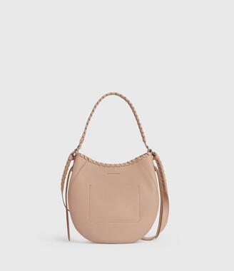 AllSaints Ada Leather Hobo Bag