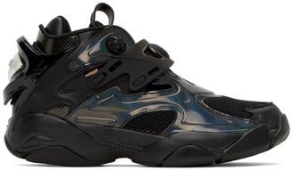 Juun.J Black Reebok Edition Pump Court Sneakers