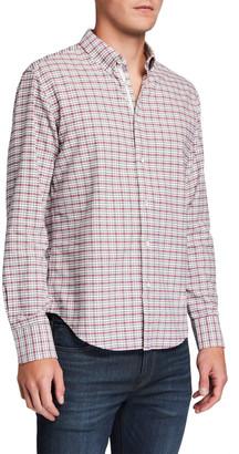 Rag & Bone Men's Fit 2 Tomlin Oxford Tricolor Sport Shirt