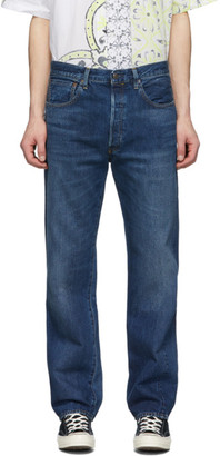 Levi's Clothing Blue 501 1955 Straight Jeans