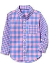 Gap | Sarah Jessica Parker Plaid Button-Down Shirt