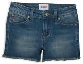 Hudson Girls' Frayed Denim Shorts - Sizes 7-16