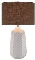 Jalexander Lighting Chevron Pattern Ceramic Table Lamp