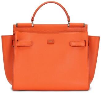 Dolce & Gabbana medium Sicily leather tote bag
