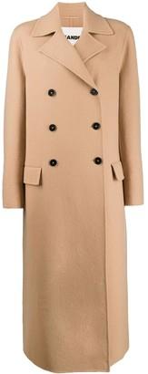 Jil Sander Double-Breasted Coat