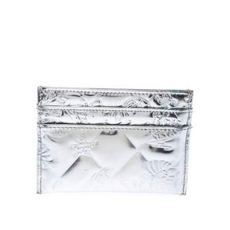 Chanel Silver Patent leather Purses, wallets & cases