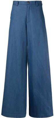 Societe Anonyme Wide-Leg Trousers