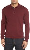 John W. Nordstrom Wool Polo Sweater