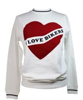 "Zoe Karssen ""i Love Bikers"" White Sweatshirt"