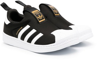 Adidas Originals Kids Superstar 360 slip-on sneakers