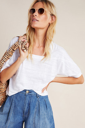 Anthropologie Deedee Dolman-Sleeved Top By in White Size S