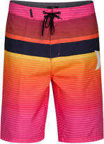 Hurley Men's Line Up Stripe 21and#034; Board Shorts