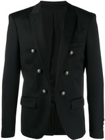 Balmain open front blazer