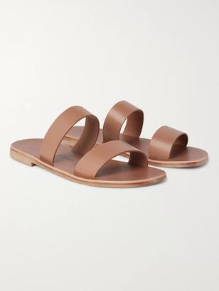 Álvaro González Alex Leather Sandals
