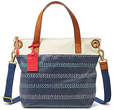 Fossil Keely Striped Tote