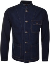 Pretty Green Sandmead Denim Jacket Blue