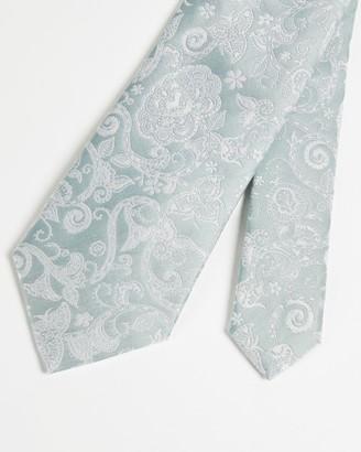 Ted Baker Paisley Silk Jacquard Tie