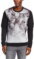 Religion Men's Crow All Over Long Sleeve Sweatshirt