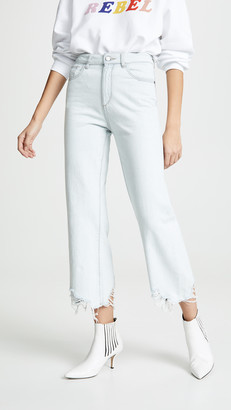 DL1961 Hepburn High Rise Wide Leg Jeans
