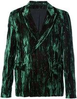 Ann Demeulemeester textured blazer - men - Acetate/Rayon - XS
