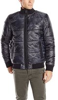 Calvin Klein Jeans Men's Paper Printed Puffer Jacket
