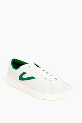 Tretorn Women's Green Nylite Canvas Sneakers