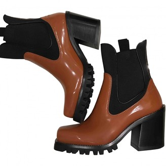 Louis Vuitton Other Patent leather Ankle boots