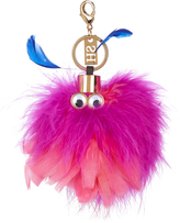 Sophie Hulme Wizzy feather key ring