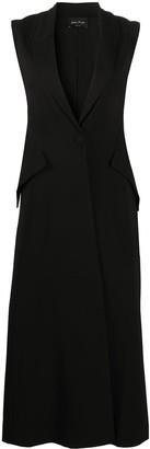 Andrea Ya'aqov Sleeveless Single-Breasted Coat