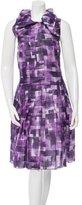 Marni Printed Silk Dress w/ Tags