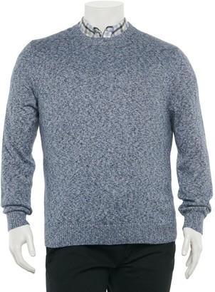 Croft & Barrow Big & Tall Extra-Soft Crewneck Sweater