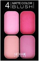 NICKA K 4 Matte Color Blush Set CBM01