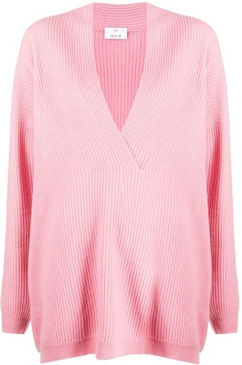 Allude Oversized Knitted Top