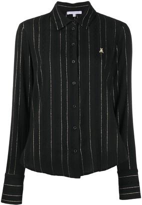 Patrizia Pepe Striped Buttoned Shirt