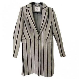 LK Bennett Grey Wool Coat for Women