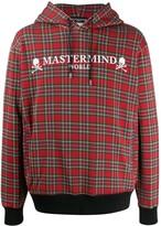 Mastermind World tartan check hoodle