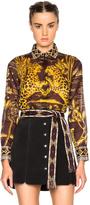 Valentino Jaguar Print Blouse