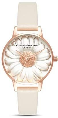 Olivia Burton 3D Daisy Watch, 30mm