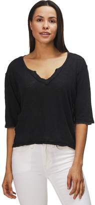 Free People Head In The Clouds Solid Shirt - Women's