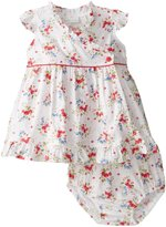 Jo-Jo JoJo Maman Bebe Baby Dress With Knickers (Baby) - Blossom-6-12 Months