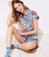 LOFT Flowerbed Pajama Set
