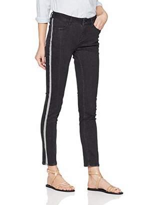 Comma Women's 81.902.71 1/333 Trouser, (Grey/Black Denim Stretch 99z9), (Size: 44)