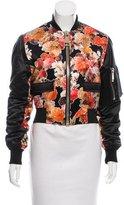 Givenchy Silk Bomber Jacket